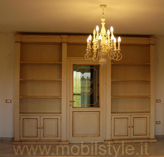 Mobil style libreria bifacciale impero mobili monumento - Parete divisoria mobile ...